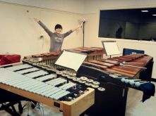Rehearsing Takemitsu's Rain Tree
